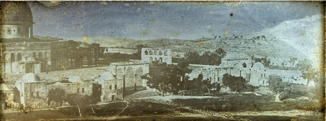 Girault-de-Prangey-daguerreotype-Jérusalem-Dôme-du-Rocher-c1842-w800