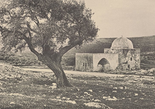 קבר רחל - כך בערך עד 1967