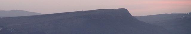 הר טרשים קרח - צוק הארבל