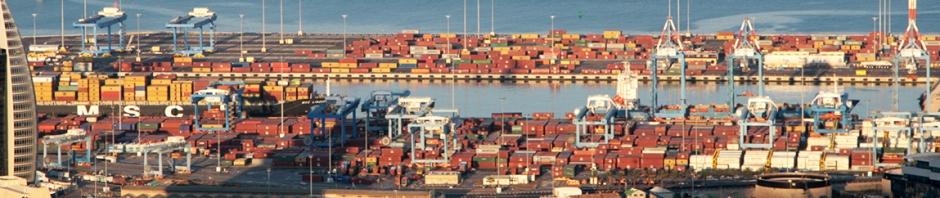 לפני הקמת הנמל החדש